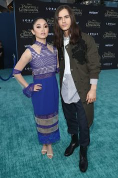 "HOLLYWOOD, CA - MAY 18: Actors Lana Condor (L) and Anthony De La Torre at the Premiere of Disney's and Jerry Bruckheimer Films' ""Pirates of the Caribbean: Dead Men Tell No Tales,"" at the Dolby Theatre in Hollywood, CA with Johnny Depp as the one-and-only Captain Jack in a rollicking new tale of the high seas infused with the elements of fantasy, humor and action that have resulted in an international phenomenon for the past 13 years. May 18, 2017 in Hollywood, California. (Photo by Rich Polk/Getty Images for Disney) *** Local Caption *** Lana Condor; Anthony De La Torre"