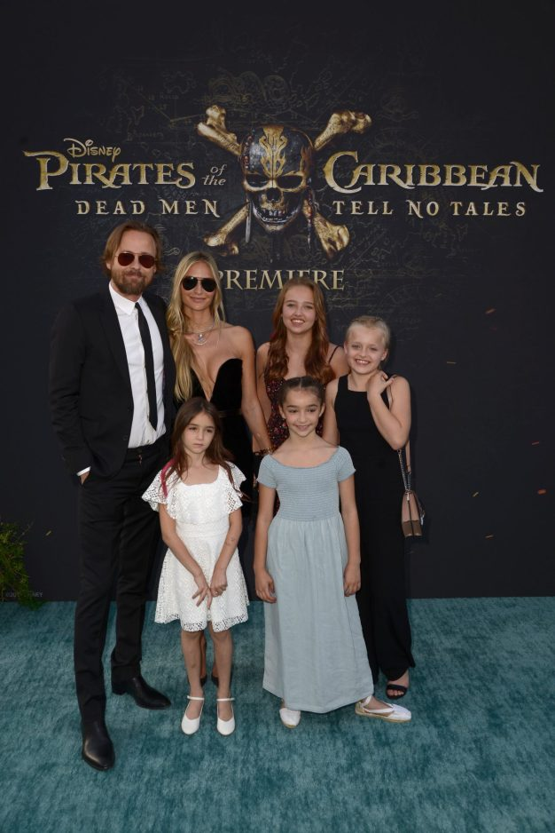 """HOLLYWOOD, CA - MAY 18: Director Joachim Ronning (L) and family at the Premiere of Disney's and Jerry Bruckheimer Films' """"Pirates of the Caribbean: Dead Men Tell No Tales,"""" at the Dolby Theatre in Hollywood, CA with Johnny Depp as the one-and-only Captain Jack in a rollicking new tale of the high seas infused with the elements of fantasy, humor and action that have resulted in an international phenomenon for the past 13 years. May 18, 2017 in Hollywood, California. (Photo by Marc Flores/Getty Images for Disney) *** Local Caption *** Joachim Ronning"""