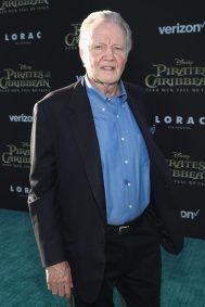 "HOLLYWOOD, CA - MAY 18: Actor Jon Voight at the Premiere of Disney's and Jerry Bruckheimer Films' ""Pirates of the Caribbean: Dead Men Tell No Tales,"" at the Dolby Theatre in Hollywood, CA with Johnny Depp as the one-and-only Captain Jack in a rollicking new tale of the high seas infused with the elements of fantasy, humor and action that have resulted in an international phenomenon for the past 13 years. May 18, 2017 in Hollywood, California. (Photo by Rich Polk/Getty Images for Disney) *** Local Caption *** Jon Voight"