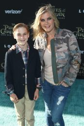"""HOLLYWOOD, CA - MAY 18: Benjamin Sanov (L) and Actor Alison Sweeney at the Premiere of Disney's and Jerry Bruckheimer Films' """"Pirates of the Caribbean: Dead Men Tell No Tales,"""" at the Dolby Theatre in Hollywood, CA with Johnny Depp as the one-and-only Captain Jack in a rollicking new tale of the high seas infused with the elements of fantasy, humor and action that have resulted in an international phenomenon for the past 13 years. May 18, 2017 in Hollywood, California. (Photo by Rich Polk/Getty Images for Disney) *** Local Caption *** Benjamin Sanov; Alison Sweeney"""