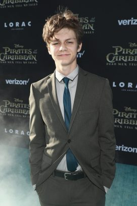 "HOLLYWOOD, CA - MAY 18: Actor Ty Simpkins at the Premiere of Disney's and Jerry Bruckheimer Films' ""Pirates of the Caribbean: Dead Men Tell No Tales,"" at the Dolby Theatre in Hollywood, CA with Johnny Depp as the one-and-only Captain Jack in a rollicking new tale of the high seas infused with the elements of fantasy, humor and action that have resulted in an international phenomenon for the past 13 years. May 18, 2017 in Hollywood, California. (Photo by Rich Polk/Getty Images for Disney) *** Local Caption *** Ty Simpkins"
