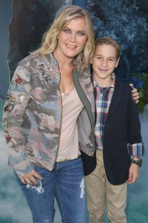 """HOLLYWOOD, CA - MAY 18: Actor Alison Sweeney (L) and Benjamin Sanov at the Premiere of Disney's and Jerry Bruckheimer Films' """"Pirates of the Caribbean: Dead Men Tell No Tales,"""" at the Dolby Theatre in Hollywood, CA with Johnny Depp as the one-and-only Captain Jack in a rollicking new tale of the high seas infused with the elements of fantasy, humor and action that have resulted in an international phenomenon for the past 13 years. May 18, 2017 in Hollywood, California. (Photo by Jesse Grant/Getty Images for Disney) *** Local Caption *** Alison Sweeney; Benjamin Sanov"""