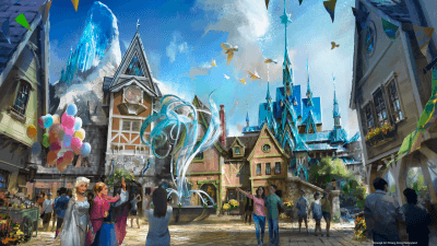 Hong Kong Disneyland Marvel Land