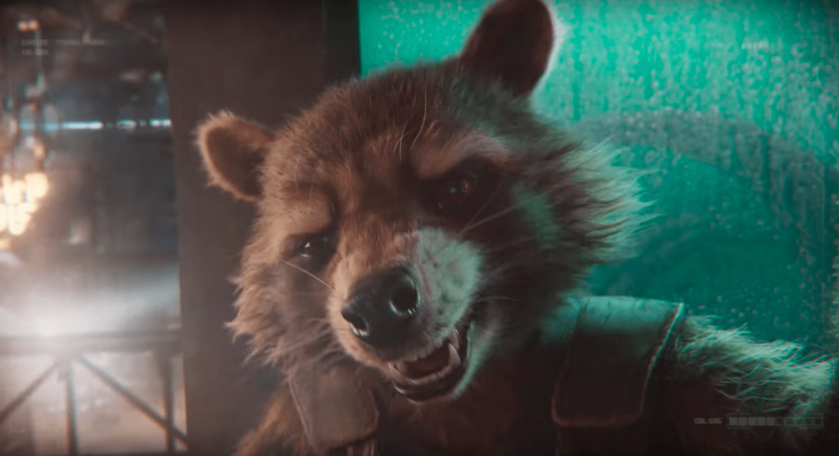 Rocket Raccoon Transmission for Guardians of the Galaxy - Mission: BREAKOUT!