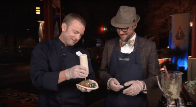 Mr. DAPs Learns to Make Falafels for Summer of Heroes at Disneyland Resort