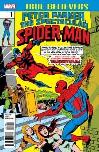 TRUE BELIEVERS_PETER PARKER THE SPECTACULAR SPIDER-MAN 001