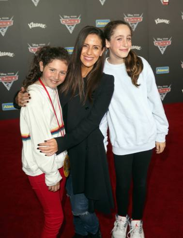 """ANAHEIM, CA - JUNE 10: Actor Soleil Moon Frye (C) and guests at the World Premiere of Disney/Pixarís ìCars 3"""" at the Anaheim Convention Center on June 10, 2017 in Anaheim, California. (Photo by Jesse Grant/Getty Images for Disney) *** Local Caption *** Soleil Moon Frye"""