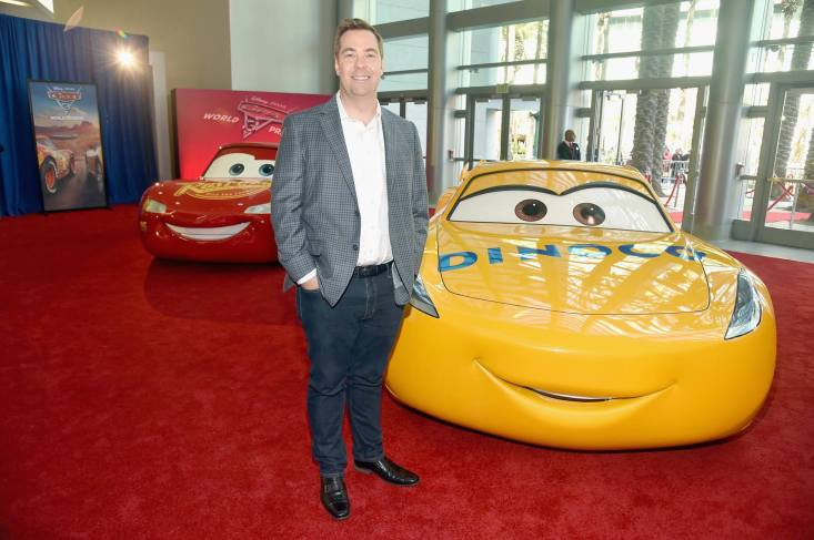 "ANAHEIM, CA - JUNE 10: Director Brian Fee poses at the World Premiere of Disney/Pixarís ìCars 3"" at the Anaheim Convention Center on June 10, 2017 in Anaheim, California. (Photo by Alberto E. Rodriguez/Getty Images for Disney) *** Local Caption *** Brian Fee"