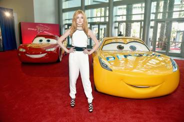 """ANAHEIM, CA - JUNE 10: Actor Katherine McNamara poses at the World Premiere of Disney/Pixarís ìCars 3"""" at the Anaheim Convention Center on June 10, 2017 in Anaheim, California. (Photo by Alberto E. Rodriguez/Getty Images for Disney) *** Local Caption *** Katherine McNamara"""