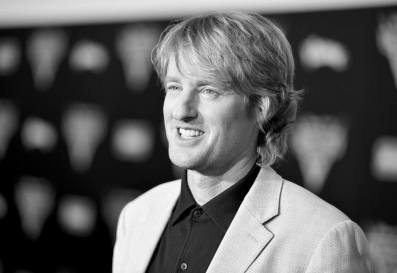 """ANAHEIM, CA - JUNE 10: (EDITORS NOTE: Image has been shot in black and white. Color version not available.) Actor Owen Wilson poses at the World Premiere of Disney/Pixarís ìCars 3"""" at the Anaheim Convention Center on June 10, 2017 in Anaheim, California. (Photo by Charley Gallay/Getty Images for Disney) *** Local Caption *** Owen Wilson"""
