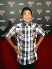 "ANAHEIM, CA - JUNE 10: Actor Hudson Yang poses at the World Premiere of Disney/Pixarís ìCars 3"" at the Anaheim Convention Center on June 10, 2017 in Anaheim, California. (Photo by Jesse Grant/Getty Images for Disney) *** Local Caption *** Hudson Yang"