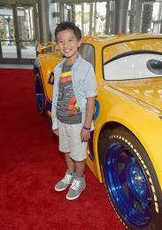"""ANAHEIM, CA - JUNE 10: Actor Ian Chen poses at the World Premiere of Disney/Pixarís ìCars 3"""" at the Anaheim Convention Center on June 10, 2017 in Anaheim, California. (Photo by Alberto E. Rodriguez/Getty Images for Disney) *** Local Caption *** Ian Chen"""