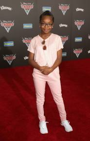 "ANAHEIM, CA - JUNE 10: Actor Marsai Martin poses at the World Premiere of Disney/Pixarís ìCars 3"" at the Anaheim Convention Center on June 10, 2017 in Anaheim, California. (Photo by Jesse Grant/Getty Images for Disney) *** Local Caption *** Marsai Martin"