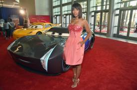 "ANAHEIM, CA - JUNE 10: Actor Kerry Washington poses at the World Premiere of Disney/Pixarís ìCars 3"" at the Anaheim Convention Center on June 10, 2017 in Anaheim, California. (Photo by Alberto E. Rodriguez/Getty Images for Disney) *** Local Caption *** Kerry Washington"
