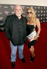 """ANAHEIM, CA - JUNE 10: Actor John Ratzenberger (L) and Julie Blichfeldt pose at the World Premiere of Disney/Pixarís ìCars 3"""" at the Anaheim Convention Center on June 10, 2017 in Anaheim, California. (Photo by Jesse Grant/Getty Images for Disney) *** Local Caption *** Julie Blichfeldt;John Ratzenberger"""