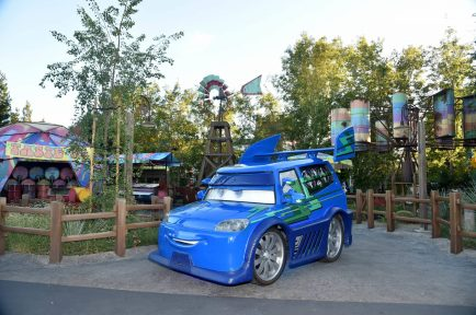 ANAHEIM, CA - JUNE 10: A view of the atmosphere at the after party for the World Premiere of Disney/Pixarís ìCars 3î at Cars Land at Disney California Adventure in Anaheim, CA. (Photo by Alberto E. Rodriguez/Getty Images for Disney)