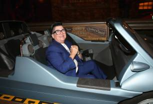 ANAHEIM, CA - JUNE 10: Actor Lea DeLaria poses at the after party for the World Premiere of Disney/Pixarís ìCars 3î at Cars Land at Disney California Adventure in Anaheim, CA. (Photo by Jesse Grant/Getty Images for Disney) *** Local Caption *** Lea DeLaria