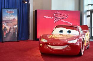 "ANAHEIM, CA - JUNE 10: A view of the atmosphere at the World Premiere of Disney/Pixarís ìCars 3"" at the Anaheim Convention Center on June 10, 2017 in Anaheim, California. (Photo by Alberto E. Rodriguez/Getty Images for Disney)"