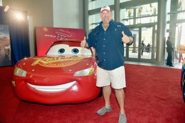 """ANAHEIM, CA - JUNE 10: Actor Larry the Cable Guy poses at the World Premiere of Disney/Pixarís ìCars 3"""" at the Anaheim Convention Center on June 10, 2017 in Anaheim, California. (Photo by Alberto E. Rodriguez/Getty Images for Disney) *** Local Caption *** Larry the Cable Guy;Daniel Lawrence Whitney"""