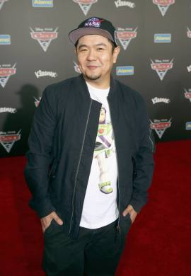"""ANAHEIM, CA - JUNE 10: Actor Eric Bauza poses at the World Premiere of Disney/Pixarís ìCars 3"""" at the Anaheim Convention Center on June 10, 2017 in Anaheim, California. (Photo by Jesse Grant/Getty Images for Disney) *** Local Caption *** Eric Bauza"""