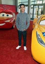 "ANAHEIM, CA - JUNE 10: Actor Karan Brar poses at the World Premiere of Disney/Pixarís ìCars 3"" at the Anaheim Convention Center on June 10, 2017 in Anaheim, California. (Photo by Alberto E. Rodriguez/Getty Images for Disney) *** Local Caption *** Karan Brar"
