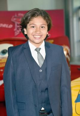 "ANAHEIM, CA - JUNE 10: Actor Anthony Gonzalez poses at the World Premiere of Disney/Pixarís ìCars 3"" at the Anaheim Convention Center on June 10, 2017 in Anaheim, California. (Photo by Alberto E. Rodriguez/Getty Images for Disney) *** Local Caption *** Anthony Gonzalez"