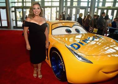 "ANAHEIM, CA - JUNE 10: Actor Cristela Alonzo poses at the World Premiere of Disney/Pixarís ìCars 3"" at the Anaheim Convention Center on June 10, 2017 in Anaheim, California. (Photo by Alberto E. Rodriguez/Getty Images for Disney) *** Local Caption *** Cristela Alonzo"