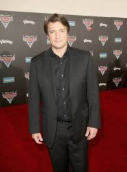 """ANAHEIM, CA - JUNE 10: Actor Nathan Fillion poses at the World Premiere of Disney/Pixarís ìCars 3"""" at the Anaheim Convention Center on June 10, 2017 in Anaheim, California. (Photo by Jesse Grant/Getty Images for Disney) *** Local Caption *** Nathan Fillion"""