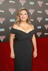 """ANAHEIM, CA - JUNE 10: Actor Cristela Alonzo poses at the World Premiere of Disney/Pixarís ìCars 3"""" at the Anaheim Convention Center on June 10, 2017 in Anaheim, California. (Photo by Jesse Grant/Getty Images for Disney) *** Local Caption *** Cristela Alonzo"""