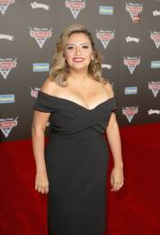 "ANAHEIM, CA - JUNE 10: Actor Cristela Alonzo poses at the World Premiere of Disney/Pixarís ìCars 3"" at the Anaheim Convention Center on June 10, 2017 in Anaheim, California. (Photo by Jesse Grant/Getty Images for Disney) *** Local Caption *** Cristela Alonzo"