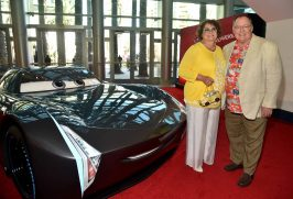"ANAHEIM, CA - JUNE 10: Nancy Lasseter (L) and executive producer John Lasseter at the World Premiere of Disney/Pixarís ìCars 3"" at the Anaheim Convention Center on June 10, 2017 in Anaheim, California. (Photo by Alberto E. Rodriguez/Getty Images for Disney) *** Local Caption *** Nancy Lasseter;John Lasseter"