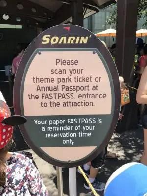 New fastpass
