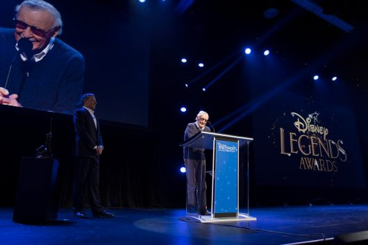 D23 EXPO 2017 - Friday, July 14, 2017 - The Ultimate Disney Fan Event - brings together all the worlds of Disney under one roof for three packed days of presentations, pavilions, experiences, concerts, sneak peeks, shopping, and more. The event, which takes place July 14-16 at the Anaheim Convention Center, provides fans with unprecedented access to Disney films, television, games, theme parks, and celebrities. (Disney/Image Group LA) ROBERT A. IGER (CHAIRMAN AND CHIEF EXECUTIVE OFFICER, THE WALT DISNEY COMPANY), STAN LEE