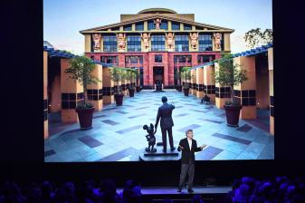 D23 EXPO 2017 - Friday, July 14, 2017 - The Ultimate Disney Fan Event - brings together all the worlds of Disney under one roof for three packed days of presentations, pavilions, experiences, concerts, sneak peeks, shopping, and more. The event, which takes place July 14-16 at the Anaheim Convention Center, provides fans with unprecedented access to Disney films, television, games, theme parks, and celebrities. (Disney/Image Group LA) ALAN HORN (CHAIRMAN, THE WALT DISNEY STUDIOS)