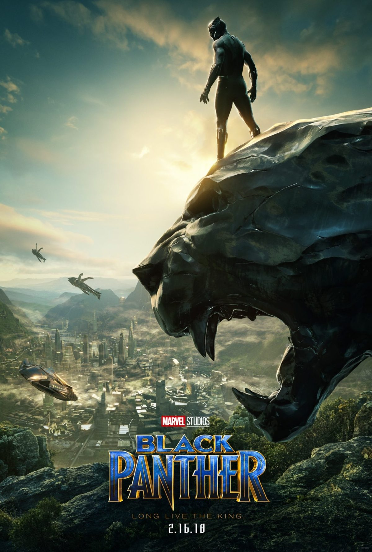 Marvel's Black Panther Poster