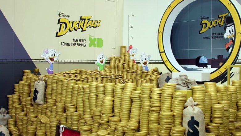 DuckTales Money Bin at D23 Expo