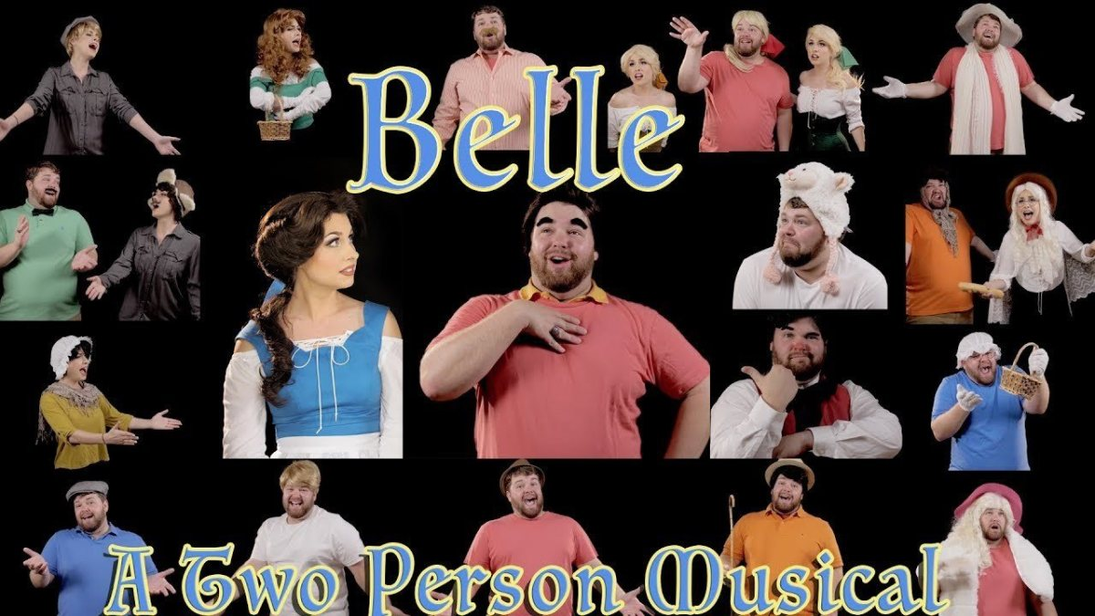 Traci Hines & Brian Hull Perform Disney's BELLE!