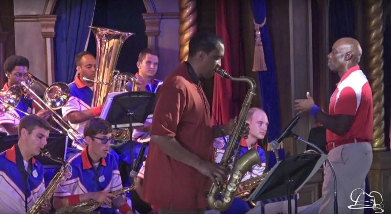 Javon Jackson with Disneyland Resort 2017 All-American College Band