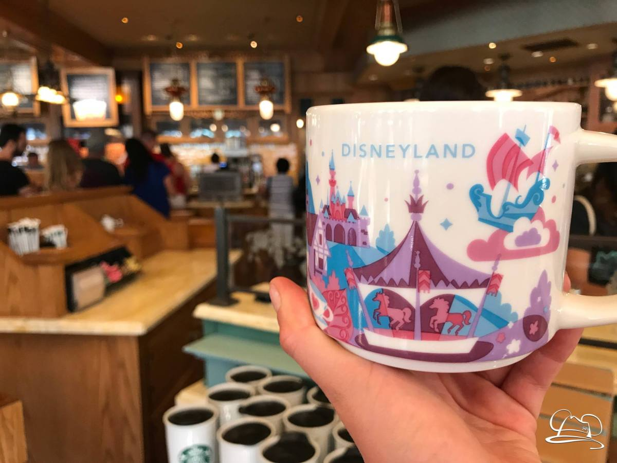 New Disneyland You Are Here Mugs Arrive at the Market House Starbucks!