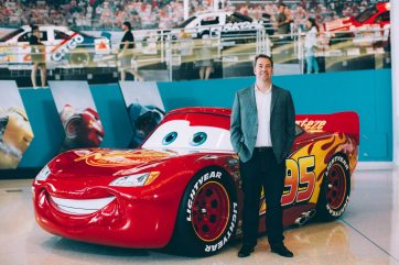 CHARLOTTE, NC - SEPTEMBER 28: Cars 3 Director Brian Fee