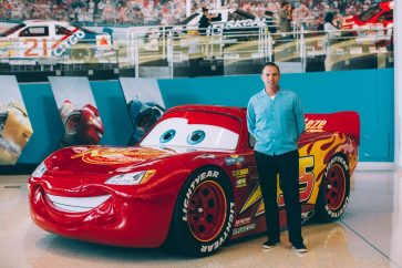 CHARLOTTE, NC - SEPTEMBER 28: Cars 3 Creative Director Jay Ward