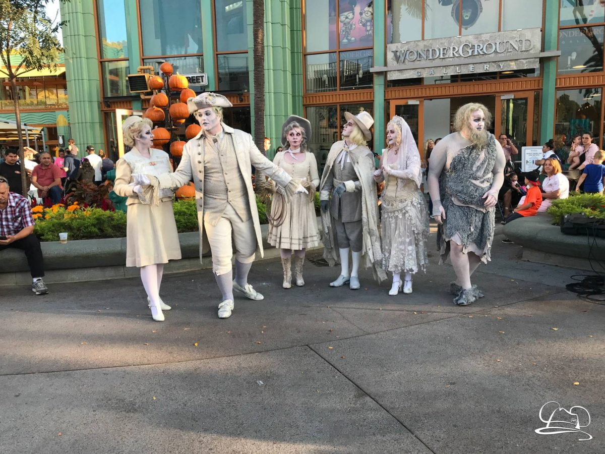 SCAREolers Come to Downtown Disney at the Disneyland Resort for Halloween Time