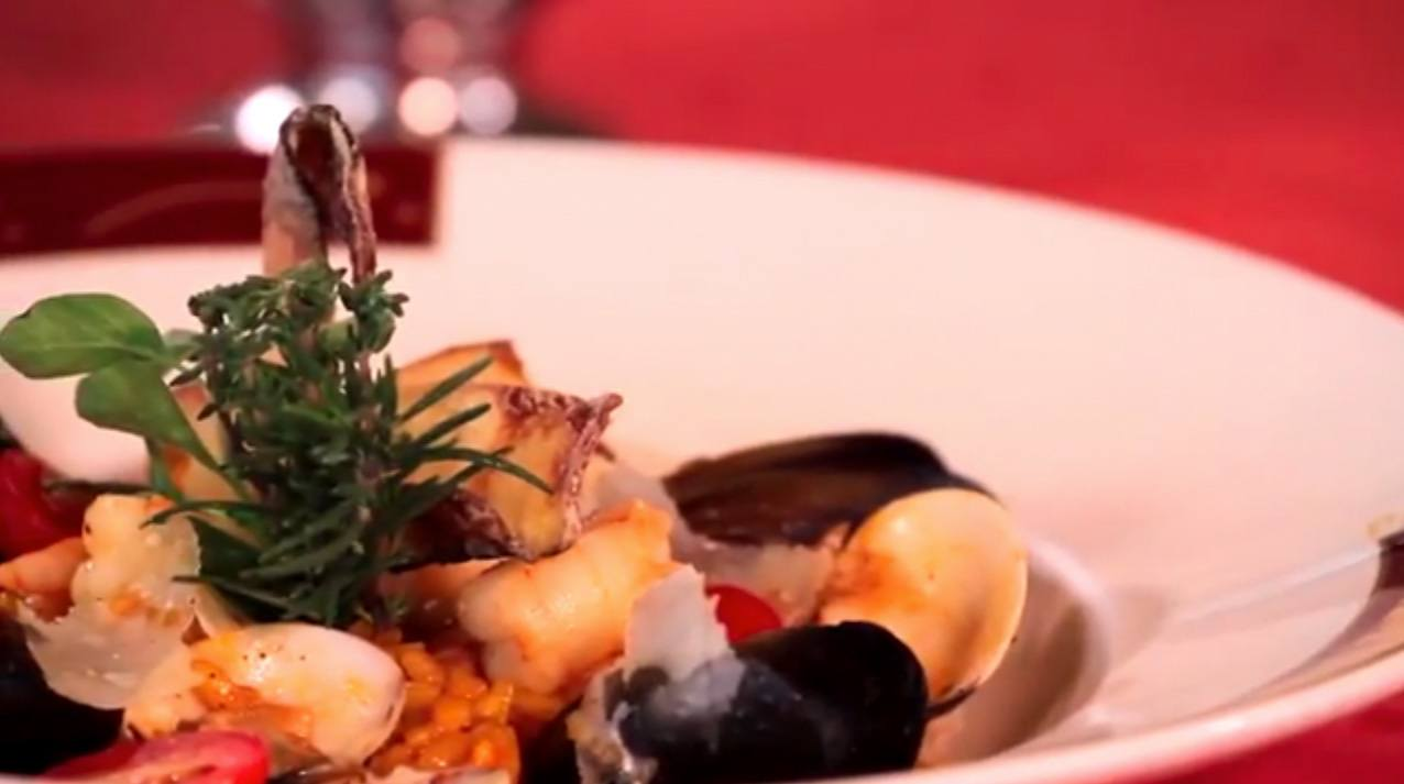 Geek Eats Disney Recipes: Disney Cruise Line's Seafood Risotto