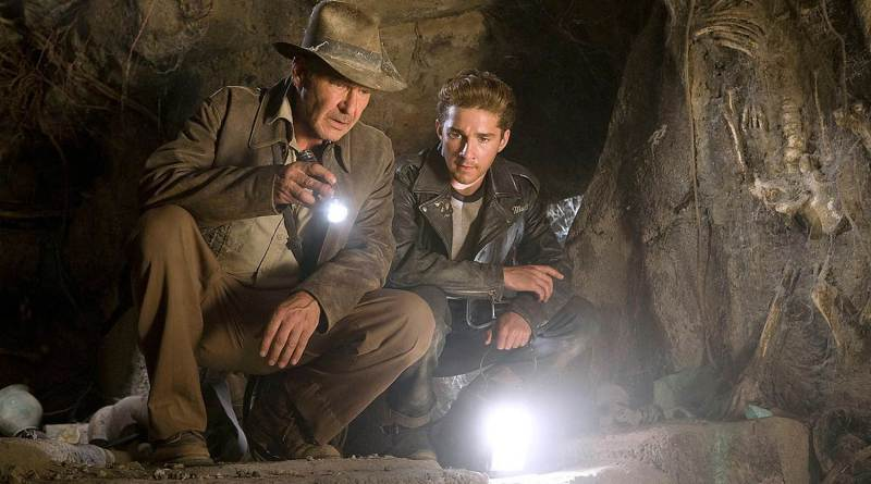 Shia LeBeouf, Harrison Ford, Indiana Jones