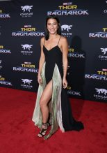 """HOLLYWOOD, CA - OCTOBER 10: Dancer Lexy Panterra at The World Premiere of Marvel Studios' """"Thor: Ragnarok"""" at the El Capitan Theatre on October 10, 2017 in Hollywood, California. (Photo by Rich Polk/Getty Images for Disney) *** Local Caption *** Lexy Panterra"""