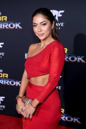 "HOLLYWOOD, CA - OCTOBER 10: Arianny Celeste at The World Premiere of Marvel Studios' ""Thor: Ragnarok"" at the El Capitan Theatre on October 10, 2017 in Hollywood, California. (Photo by Rich Polk/Getty Images for Disney) *** Local Caption *** Arianny Celeste"