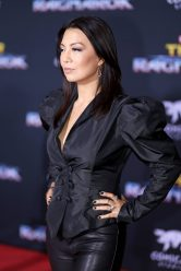 """HOLLYWOOD, CA - OCTOBER 10: Actor Ming-Na Wen at The World Premiere of Marvel Studios' """"Thor: Ragnarok"""" at the El Capitan Theatre on October 10, 2017 in Hollywood, California. (Photo by Rich Polk/Getty Images for Disney) *** Local Caption *** Ming-Na Wen"""