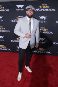 "HOLLYWOOD, CA - OCTOBER 10: Actor Chris Sullivan at The World Premiere of Marvel Studios' ""Thor: Ragnarok"" at the El Capitan Theatre on October 10, 2017 in Hollywood, California. (Photo by Rich Polk/Getty Images for Disney) *** Local Caption *** Chris Sullivan"