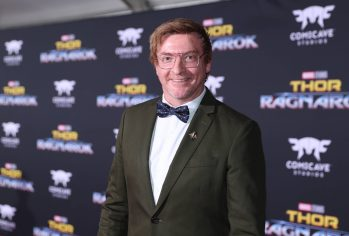 """HOLLYWOOD, CA - OCTOBER 10: Rhys Darby at The World Premiere of Marvel Studios' """"Thor: Ragnarok"""" at the El Capitan Theatre on October 10, 2017 in Hollywood, California. (Photo by Rich Polk/Getty Images for Disney) *** Local Caption *** Rhys Darby"""