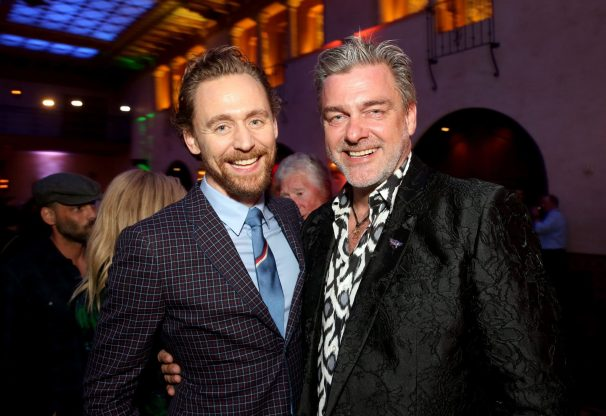 "HOLLYWOOD, CA - OCTOBER 10: Actors Tom Hiddleston (L) and Ray Stevenson at The World Premiere of Marvel Studios' ""Thor: Ragnarok"" at the El Capitan Theatre on October 10, 2017 in Hollywood, California. (Photo by Jesse Grant/Getty Images for Disney) *** Local Caption *** Ray Stevenson; Tom Hiddleston"